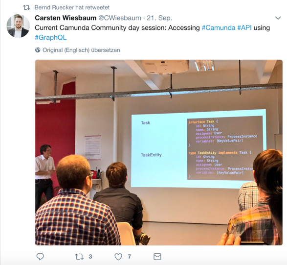2017 Loydl Camunda Graphql talk - Tweets 2